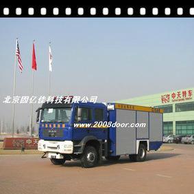 Beijing factory direct sales! Medical vehicle with rolling shutter door