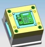 通信产品塑料件办公室座机电话机外壳模具设计 注塑加工;