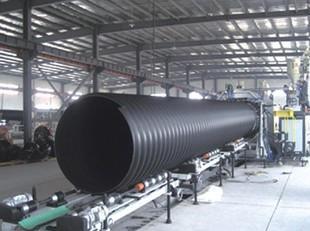 공장 도매 hdpe 철강 파형관 배수 유동성이 우월하다 마찰을 줄이는, 배수 속도가 빠르다