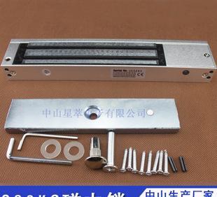 자력 자물쇠 / 전자 자물쇠 /280 킬로그램 자력 자물쇠 / 걸려 척, 자력 자물쇠 /280KG 싱글도아 자력 자물쇠가 잠겨 전기 꽂다