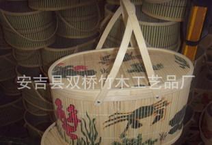 安吉安吉、竹パック箱、毛ガニ水産包裝