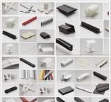 提供PVC挤塑加工 硬质PVC挤塑异型材 pvc塑料挤塑;
