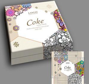 メーカー直販現物よんしよ入っ80 g美しい月餅容器チョコレートケーキ箱箱箱マカロン