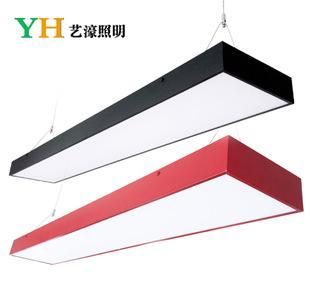 中山LED办公照明 工程创意吊灯 1..2米照明装修设计灯具;