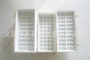 精緻皮質コスメセット精油包裝箱/高級皮質醫薬箱箱箱セット安瓶