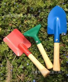 供应儿童工具/园林工具/小花具 彩色3件套;