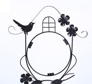 厂家直销铁艺挂钟创意小鸟挂钟创意工艺礼品五金加工定制大量批发;