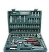 全国包邮铬钒钢94件套汽车套筒扳手工具组合汽修工具组套修理套装;
