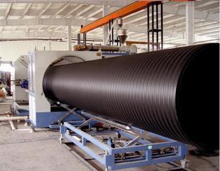 供应HDPE大口径缠绕管生产设备,塑料管材生产线 厂家直供;