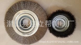 Welcome to order large derusting polishing wire round wire brush roller wire brush roller