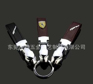 车标钥匙扣 钥匙圈钥匙链 高档汽车车标金属钥匙扣;