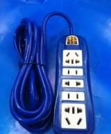 厂家供应01带线 多功能插座 墙壁插座 插板 带3米线电源插座;