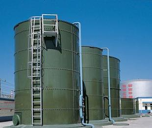 Anaerobic reactor IC high efficiency anaerobic reactor for wastewater treatment plant