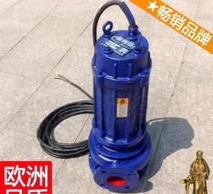 该潜水排污泵采用双端面机械密封和旋转叶轮