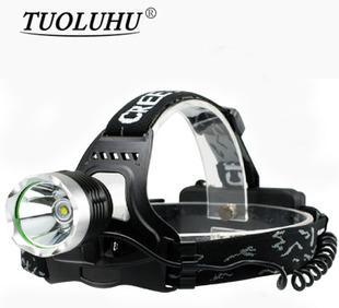 「拓ランドローバー光LEDヘッドランプ防水」T6ハイパワーキャンプ黃色狩猟ヘッドランプの卸売