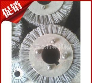 Sheet steel wire wheel, abrasive roller brush