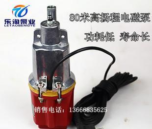 台州乐淘220v高扬程微型潜水泵家用深井泵隔膜震动泵