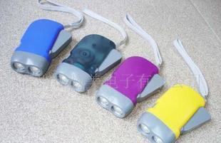 供应手压充电手电筒/手电筒/环保手电筒/无电源手电筒(图)