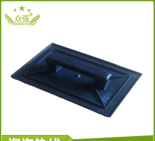 The strong direct construction site masonry plastering board flat trowel ABS big black mud plate 50 / piece