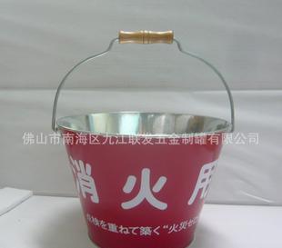 【定制】消火桶,镀锌铁桶,印刷铁桶