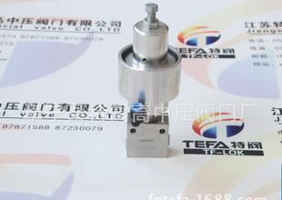 игольчатый клапан TF-LOK производственно - пневматический