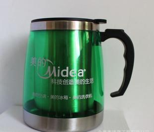 500ML 큰 광고 잔 선물 잔 외 플라스틱 안에 판촉 경품 강철 배가 큰 잔 정말 사용자 정의 인쇄 logo
