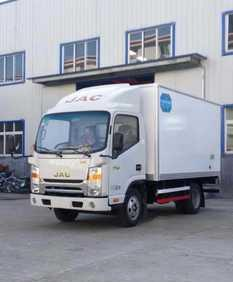 Shuailing thermal car shuailing refrigerated trucks refrigeration in four car emissions Bingxiong refrigerated truck Hongyu