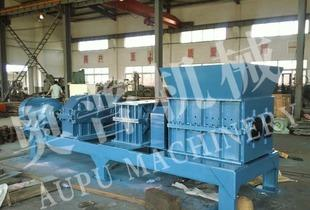 Chemical waste crusher, scrap tire crusher, scrap rubber crusher, metal hydraulic crusher