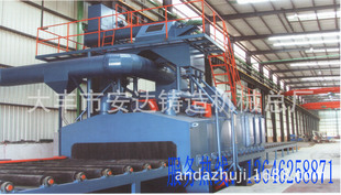 Q6920 roller type cleaning machine, the shot can be customized, welcome to inquire!
