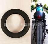 古董锯齿摩托车轮胎 4.50-18;