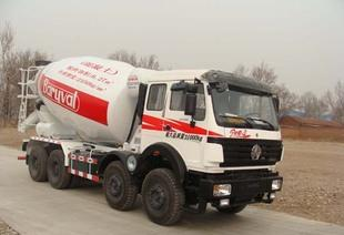 North Ben ND5310GJBZ09 type concrete mixing truck 16 party 12 steel wire tire ABS with air conditioning