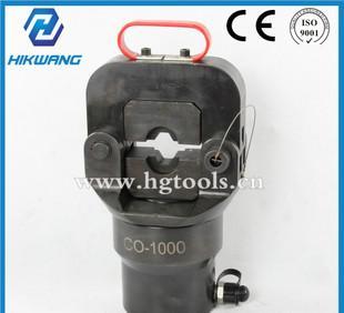 導線圧着大トン数CO-1000油圧クランプ圧線鉗子ケーブル圧着鉗子メーカー
