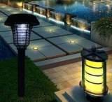 太阳能灭蚊灯 室外照明灭蚊专用 高效环保庭院灭蚊灯 草坪灭蚊灯;