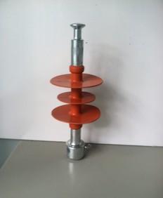 10KV rod composite insulator /70KN (red, gray)