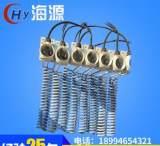 厂家直销 耐酸碱腐蚀铁氟龙电加热管 电镀设备专用加热器;
