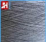 長期提供 浙江灰色10s普梳氣流紡紗加工 有機再生全棉氣流紡紗;