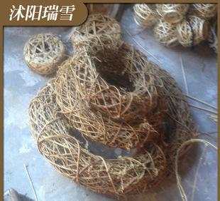 The new custom processing plant rattan crafts fashion hand woven grass ring