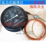 WTZ-280压力式温度计0-120℃工业 锅炉用温度计指针温度表5米线;