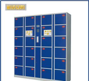 厂家定做 一卡通电子存包柜 储物柜 公检法专用寄存柜