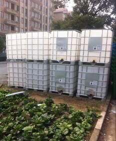 销售二手塑料吨桶 二手塑料运输桶 二手集装箱桶批发厂家