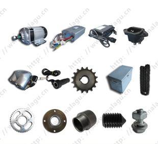 供应电动三轮车改装配件套件无刷1412ZXF48V1000W飞轮款-67006;