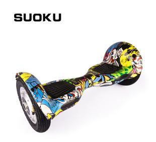 التوازن الكهربائية دراجة بعجلتين التفكير بمعنى الجسم واحد عجلة سكوتر الكهربائية ذات العجلتين تدور السيارة 10 بوصة A8 الانجراف السيارات