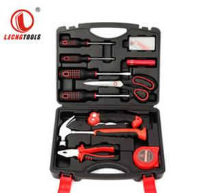 高碳钢12件套家用五金组合工具套装小五金工具 保险工具箱组套;