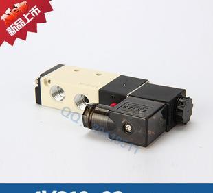 솔레노이드 밸브 두 분 다섯 차례 리버싱 공압 솔레노이드 밸브 AIRTAC 4V210-08 두 분 다섯 차례 전자 밸브