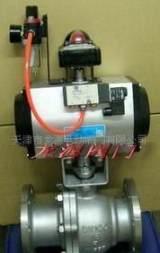 气动阀 碳钢法兰气动球阀柱塞式气动阀门软密封型可定制气动阀门;