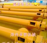 厂家定制各种矿业输送设备 螺旋式粉体输送设备 加厚绞龙输送机;