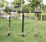 高压打气筒 30MPA 40mpa设计 折叠 油水分离 三级水冷手动打气筒;