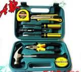 熱賣家用組合工具箱 車載五金工具 帶榔頭工具套裝 工具禮品8009A;