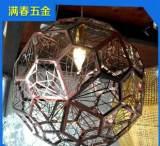 專業蝕刻加工 中山新款鏤空不銹鋼燈罩 鐵藝吊燈燈罩;