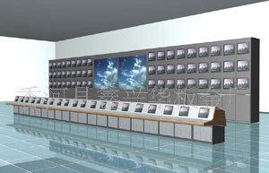 集成监控系统电视墙,监控屏幕墙;